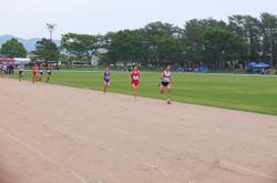 3年男子1,500mでは3位入賞。県大会の出場権を得ました。