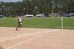 2年男子100m決勝は,11秒6の大会新記録でした。