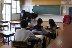 今日は1年生の伴奏者オーディションが行われました。