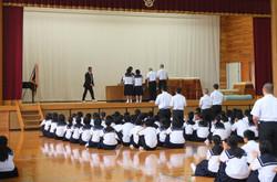 5月に行われた大会等での表彰式が行われました。