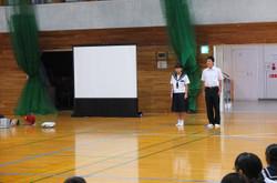 保体委員会が,先日の体育大会の様子をスライドショーで振り返りました。