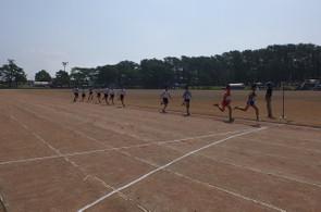 天気がよく,日差しの強い中,選手たちの熱戦が繰り広げられました。