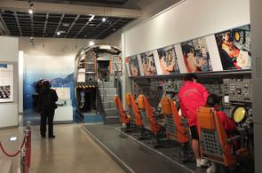 鹿屋航空基地の史料館には,戦争中の資料や海上自衛隊の資料が展示されていました。