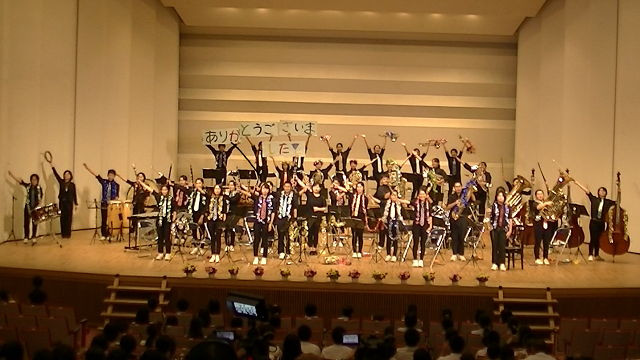 平成29年度 第32回目の吹奏楽部定期演奏会の模様です。